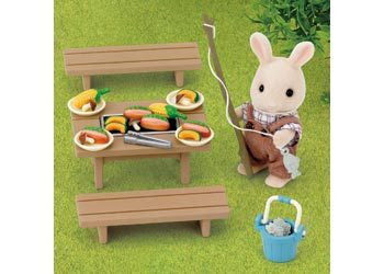 SYLVANIAN Family Barbecue set