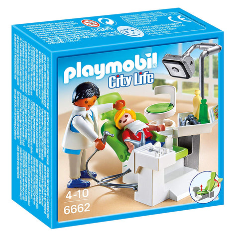 PLAYMOBIL 6662 CITY LIFE Dentist with Patient