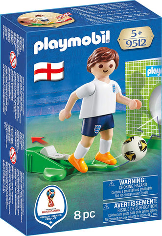 PLAYMOBIL 9512 FIFA WORLD CUP 2018 Football player ENGLAND