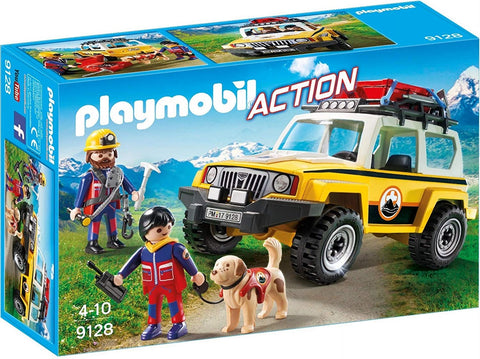 PLAYMOBIL 9128 ACTION Mountain Rescue Truck