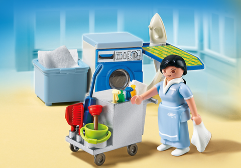 PLAYMOBIL 5271 Housekeeping Service