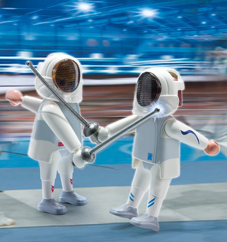 PLAYMOBIL 5195 OLYMPICS Fencing Pair