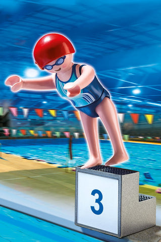 PLAYMOBIL 5198 OLYMPICS Swimmer