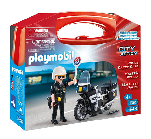PLAYMOBIL 5648 Police Carry Case