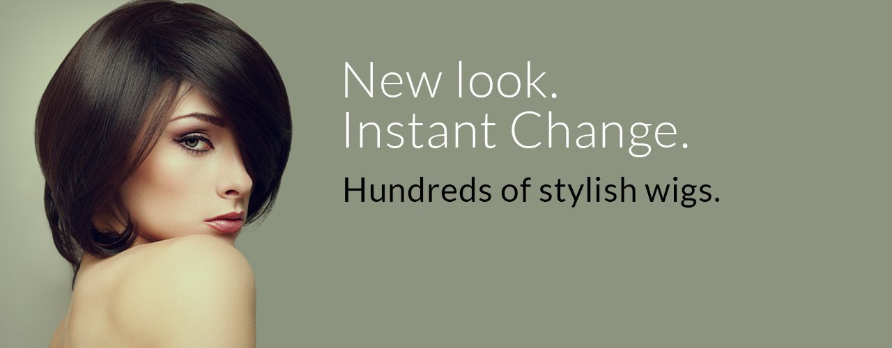 Hundreds of Stylish Wigs