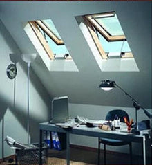 Skylight Sky Light Window ( Manual Venting ), Tempered Glass, 22-1/2-Inch x 46-1/2-Inch