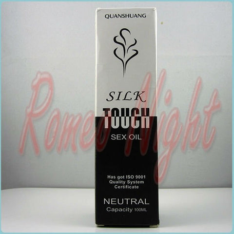 Silk Touch Sex Lubricate Oil