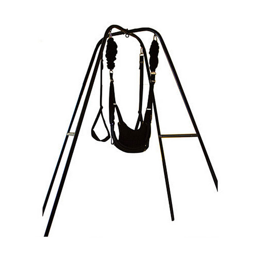 Holds Up to 600lbs JCBABA Adult Hanging on Indoor Swing s/ëx Swing Toy with Adjutsable Straps and a Seat for Couples Play
