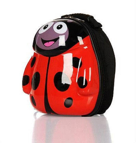 Animal Cartoon 3D Ladybug Backpack Schoolbag Waterproof Hard Shell