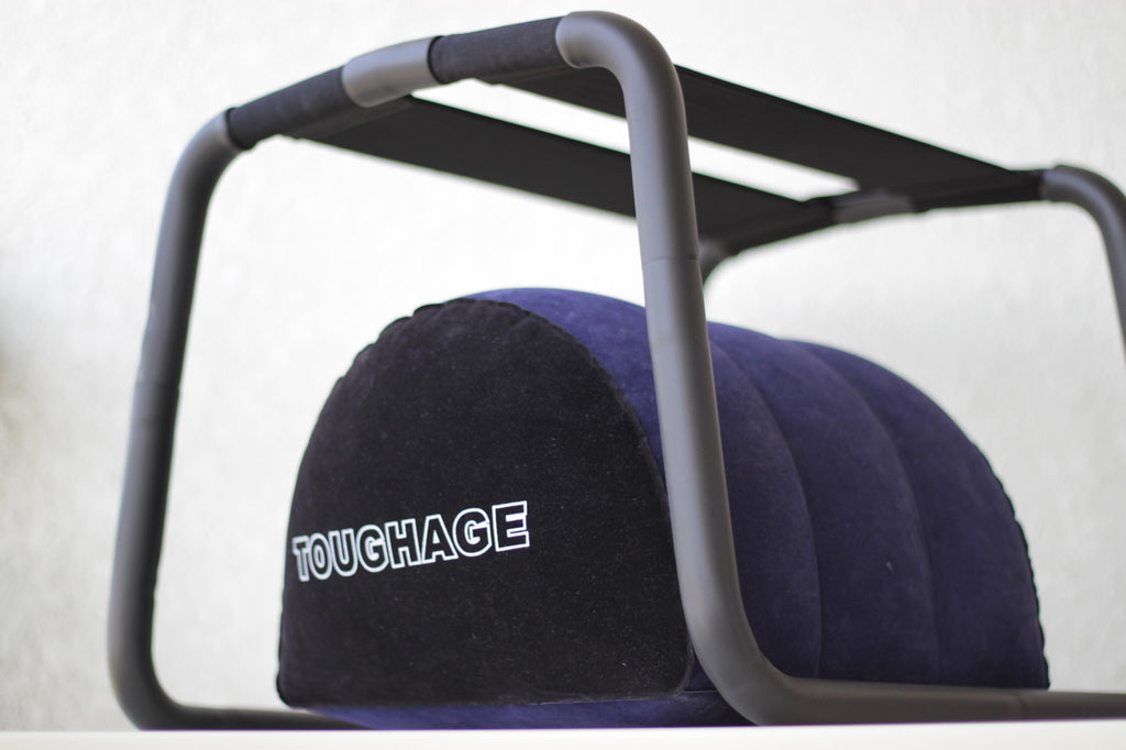 Toughage Soft Sex Loving Chair for Couples with Bonus Inflate Pillow
