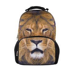 Animal FaceTM 3D Lion Backpack One Size Multicoloured