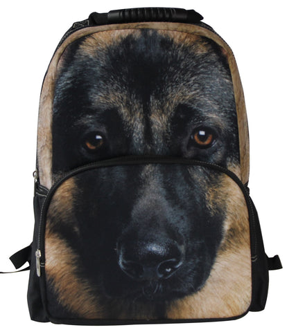AnimalFace 3D German Shepherd Backpack,