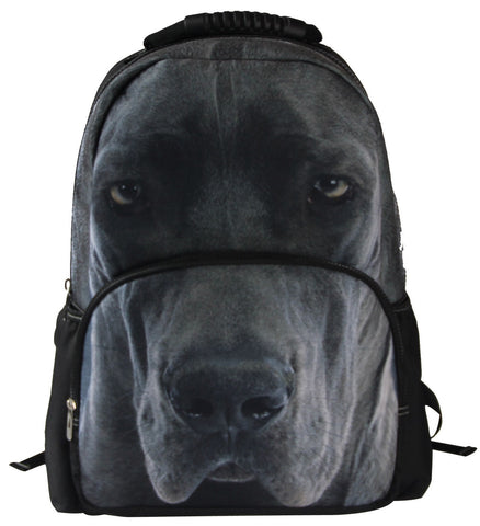 AnimalFace 3D Great Dane Dog Backpack