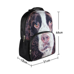 Animal Face 3D Springer Spaniel Dog