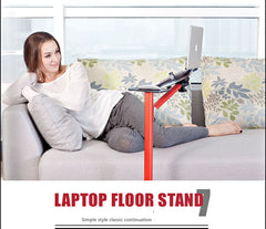 Luxury Laptop Floor Stand Height Adjusting 360 Rotate Laptop swivel L arm for bedside,floor,sofa …