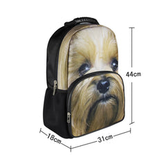 Animal Face 3D Yorkshire Terrier Dog