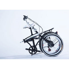"20"" Light Weight Fast Folding  Compact Portable Fold-up Bike (black)"