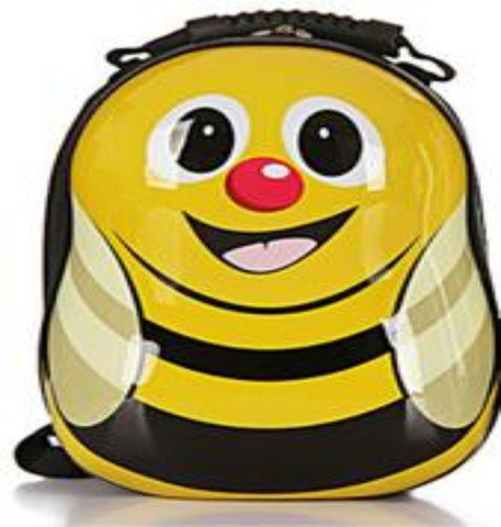 Animal Cartoon 3D Bee Backpack Schoolbag Waterproof Hard Shell