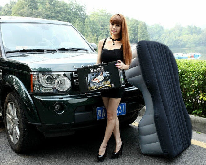 Heavy Duty Inflatable Car SUV Mattress Inflatable Bed Back ...
