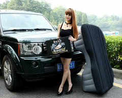 Heavy Duty Inflatable Car SUV Mattress Inflatable Bed Back Seat Extension Che Zhen