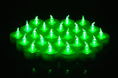 18pcs LED Tea Light Tealight Candles Unscented Flameless for Christmas Birthday Wedding Party