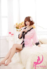 Exotic Sexy Lingerie  Robe Dressing Gown Kimono Exotic Pajamas Sleepwear Set