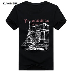 KUYOMENS Men t-shirt Plus Size Tee Shirt Homme Summer Short Sleeve Casual Men's T Shirts Male TShirts Camiseta 3D T shirt Homme