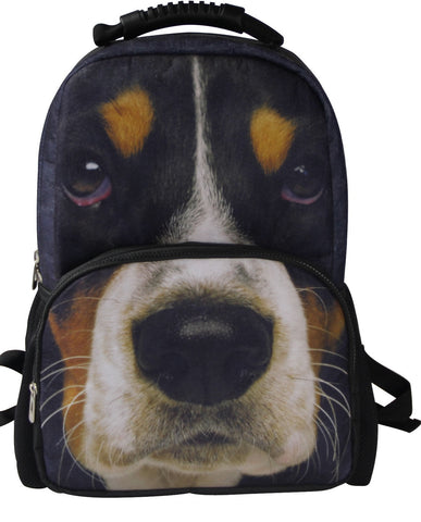 AnimalFace 3D Basset Hound Head Puppy