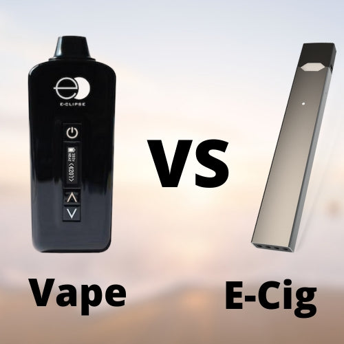 E-Cigarette vs Vaporizer