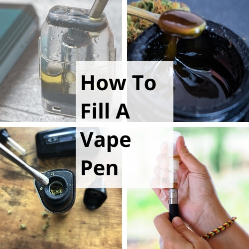How To Fill a Vape Pen