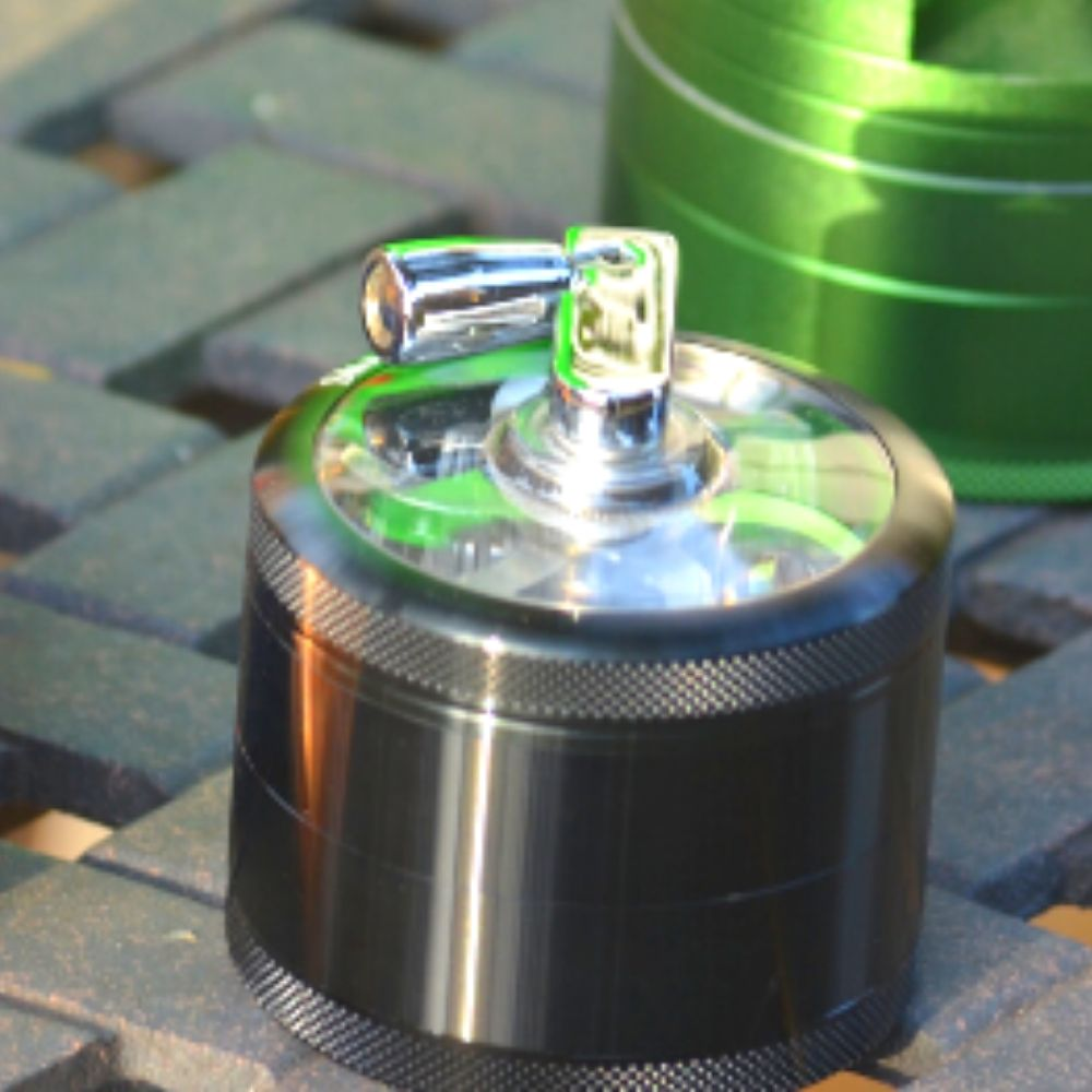 The Benefits of using a Hand Crank Herb Grinder