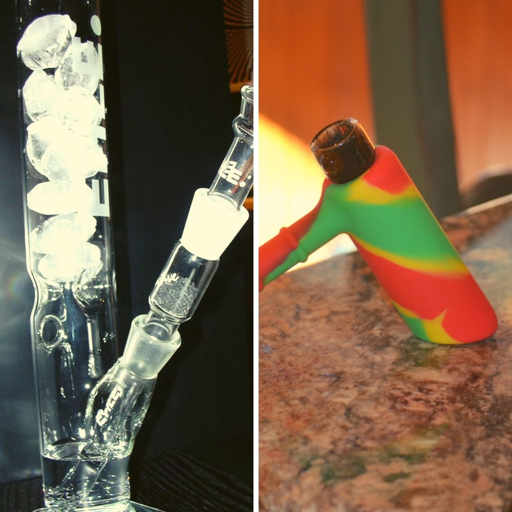 Bubbler vs Bong - A Smoking Pipe Comparison