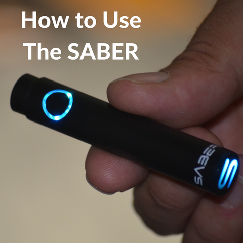 How to Use the Saber Vape