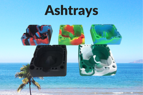 Silicone Ashtrays