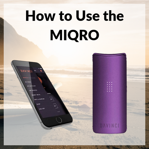 How to Use the MIQRO