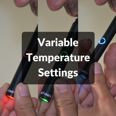 Variable Temperature Settings