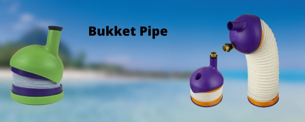Bukket Pipe Gravity Bong