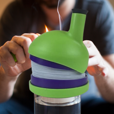 Gravity Bong kit that comes ready to use
