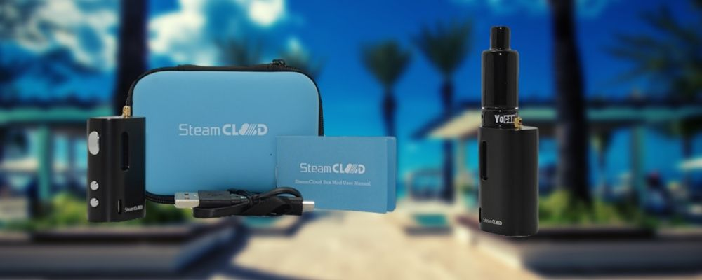 SteamCloud Box Mod Vape Kit