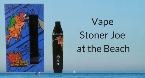 Stoner Joe Vaporizer on the Beach