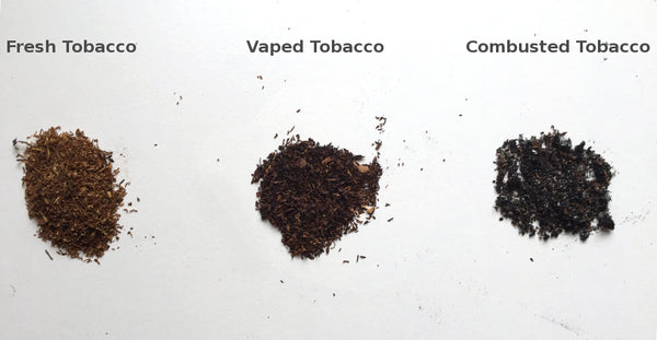 Fresh herbs vs Vaped herbs vs Combusted herbs