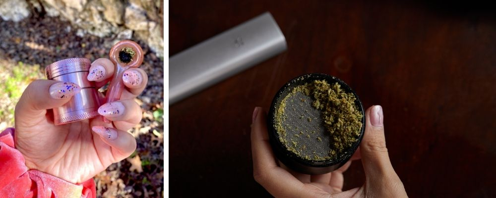 Using Herb Grinders With Dry Herb Vaporizers And Smoking Pipes
