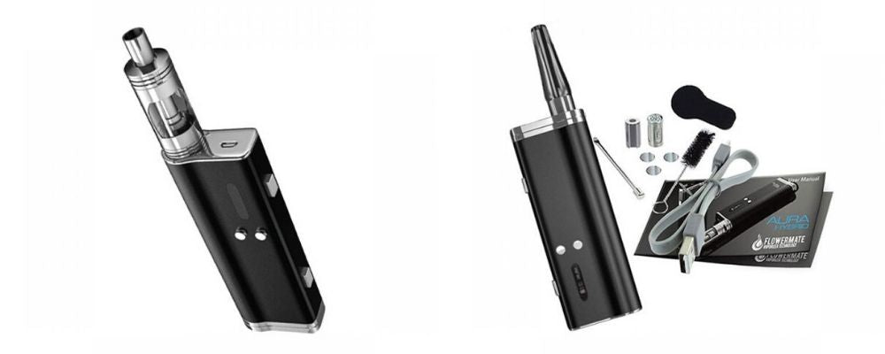 The Hybrid X Dry Herb and Wax Vaporizer