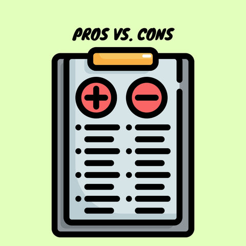 Pros vs Cons list of vaping