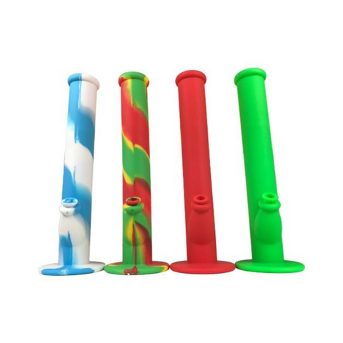 silicone bong in a multiple of different colors