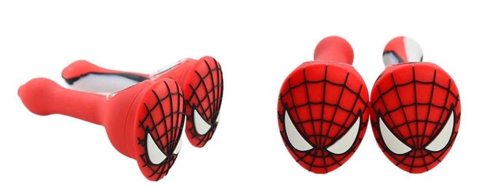 Spiderman Silicone Pipe