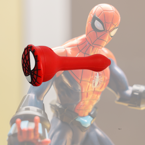spiderman silicone bowl for the nerds!