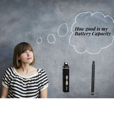 woman thinking about her titan 2 and ago battery life
