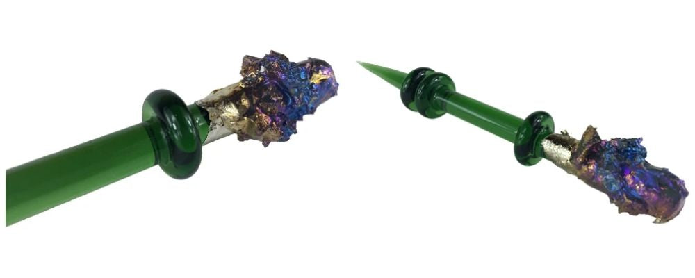 Tony Kazy Bismuth Glass Dabber