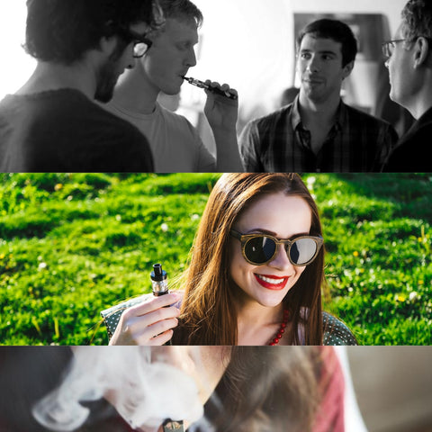 passing around a vaporizer with your friends